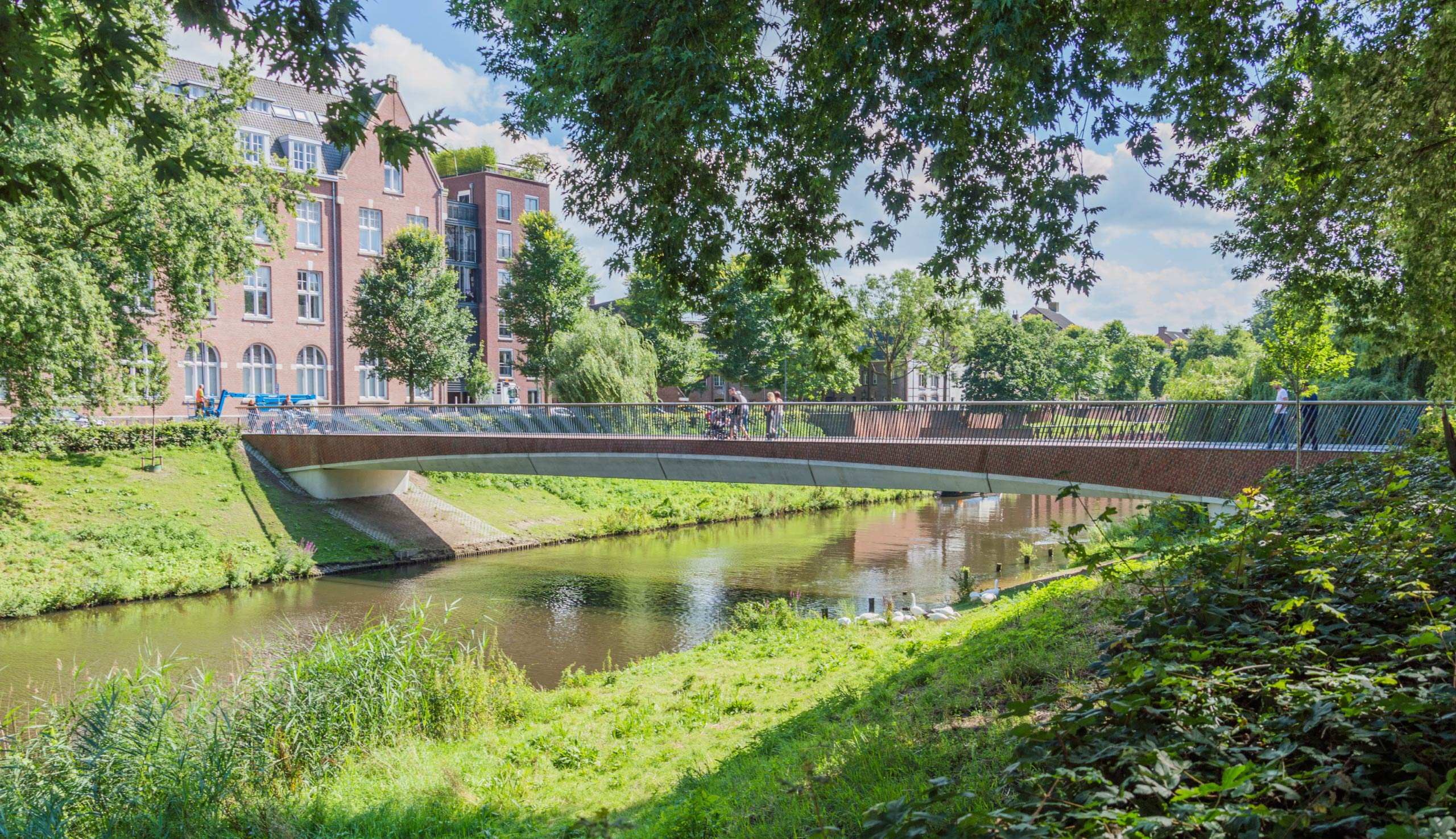 The New Maria Bridge Den Bosch
