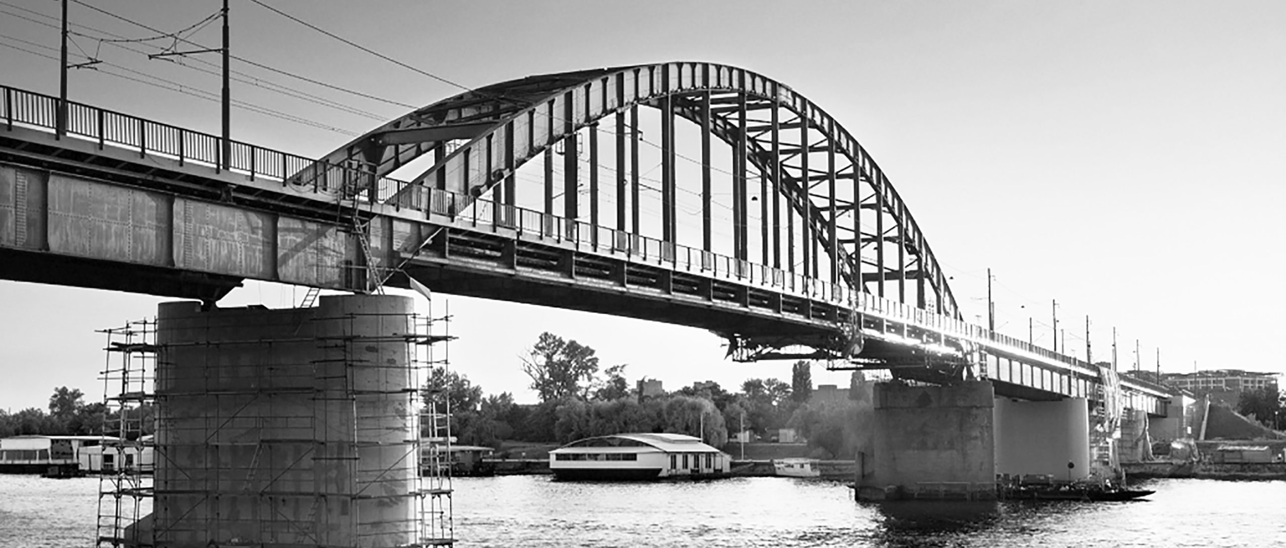 Old Sava Bridge Belgrade