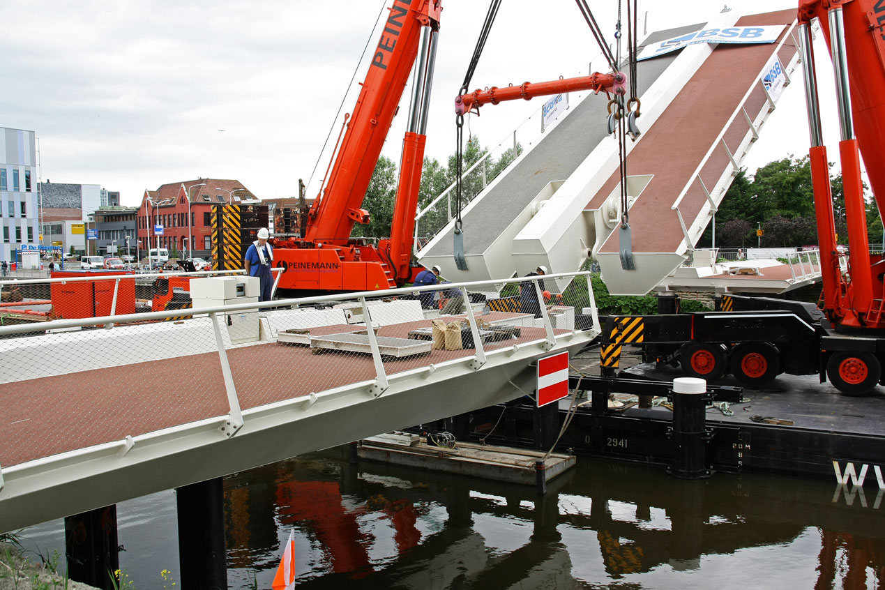 Moveable bridge Victory bridge Alkmaar