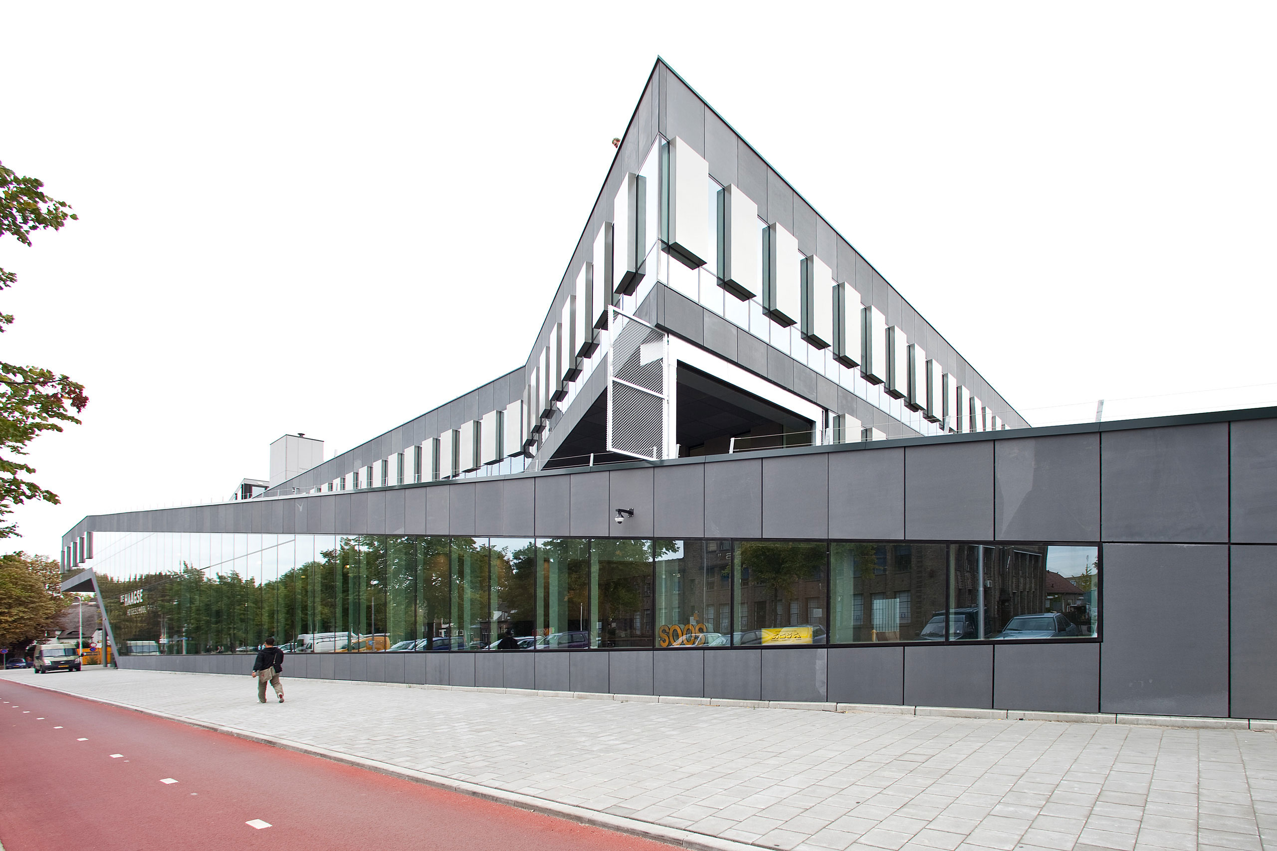 The Hague University building Delft