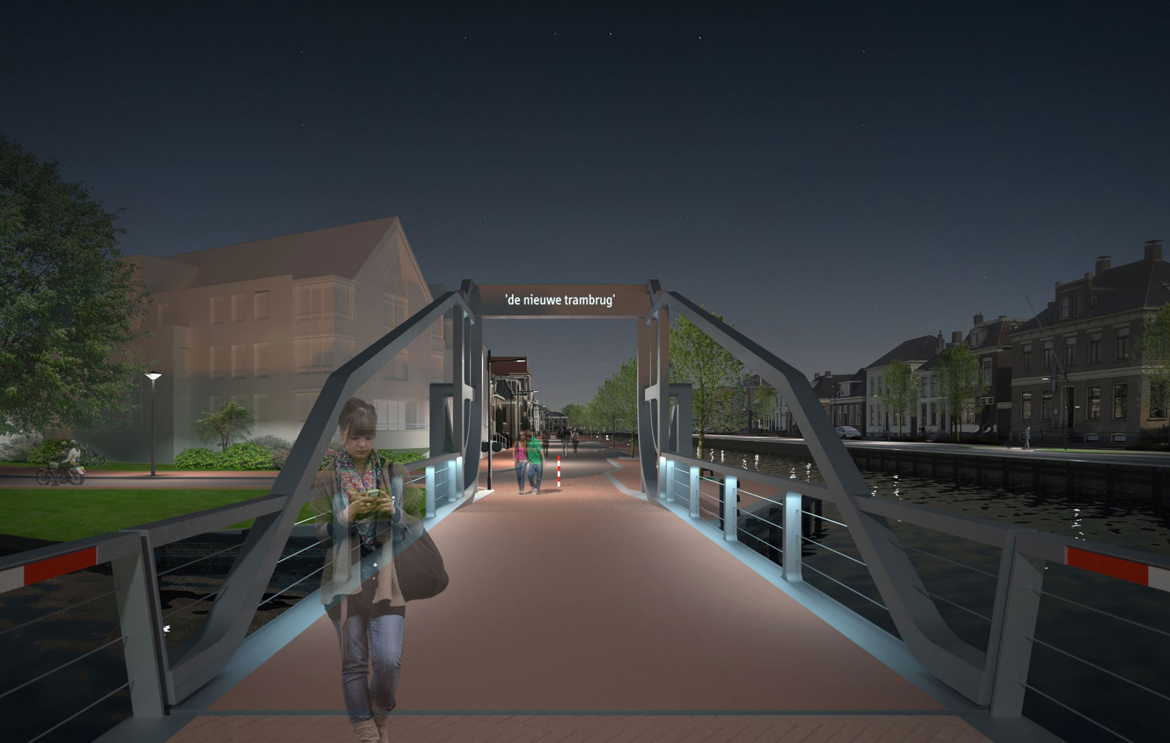 New Tram bridge Assen